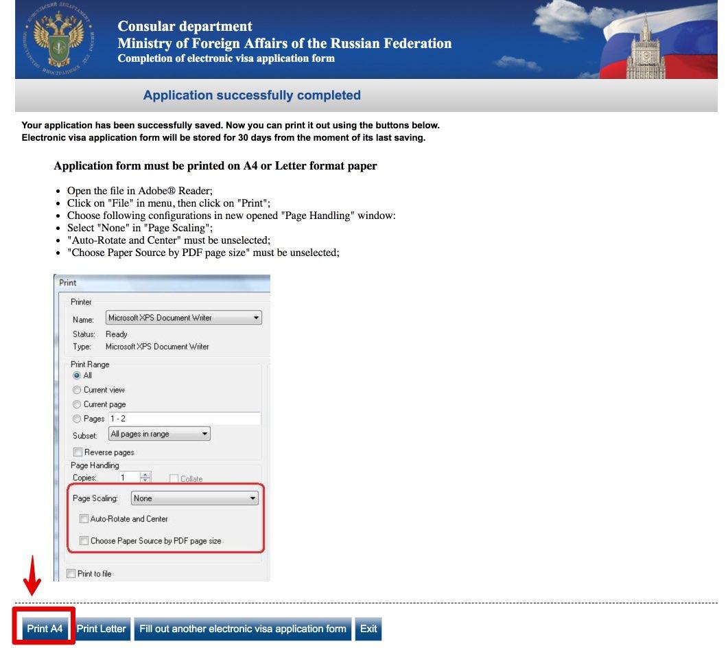 Taielik Vene viisataotluse vorm 11